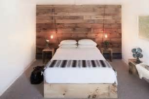Wooden Wall Bedroom 11 Wood Paneled Walls As Headboards By