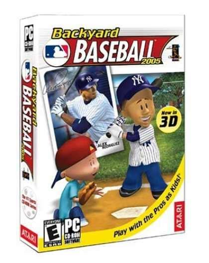backyard baseball 2006 bestselling games 2006 covers 1050 1099