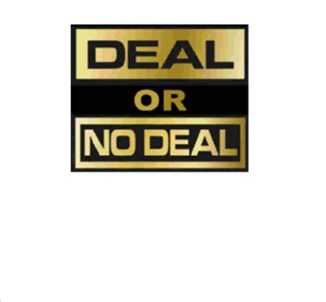 Smart Exchange Usa Deal Or No Deal Deal Or No Deal