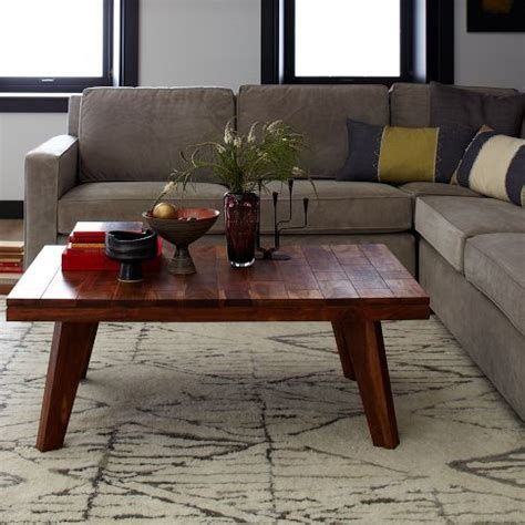 West Elm Patchwork - patchwork coffee table west elm i like the rustic feel