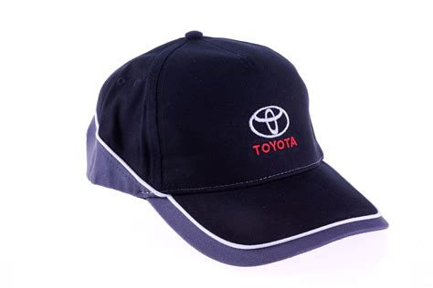 Toyota Hats Genuine Toyota Mens Baseball Cap Adjustable Embroidered