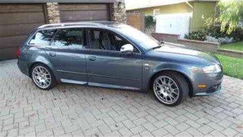 audi s4 2006, dark metallic grey avant quattro wagon, well