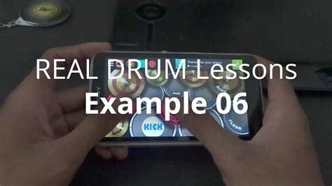 real drum tutorial halik real drum lessons exle 06 youtube