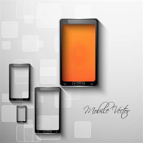 mobile phone free mobile phone abstract background vector free