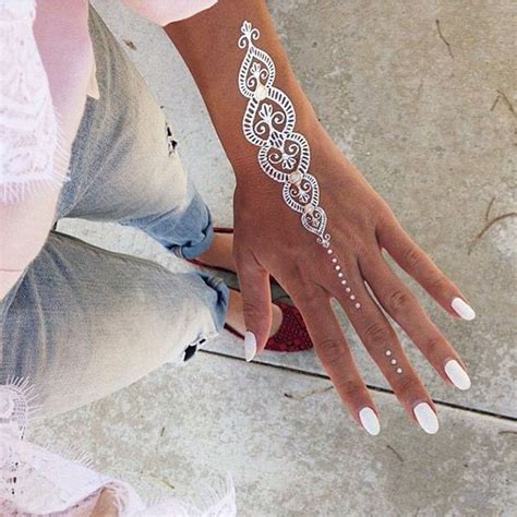 henna tattoo take off 19 stunning white henna designs for you