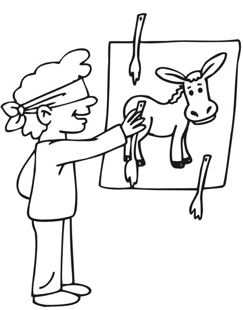 donkey tail coloring page pin the tail on the donkey