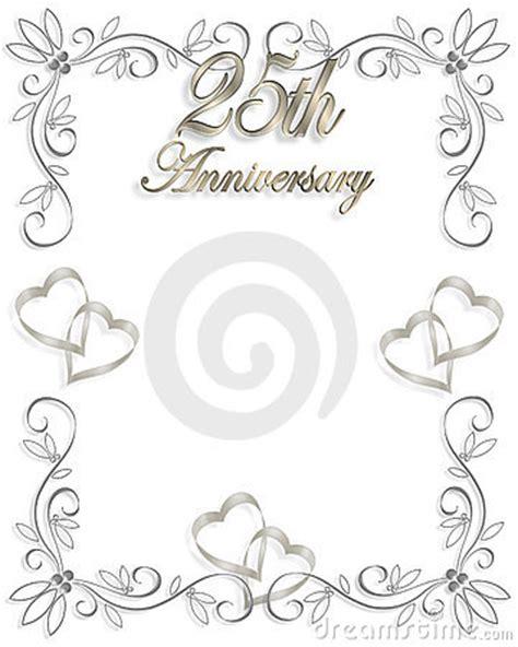 Wedding Anniversary Borders by Free 25th Wedding Anniversary Clip 101 Clip
