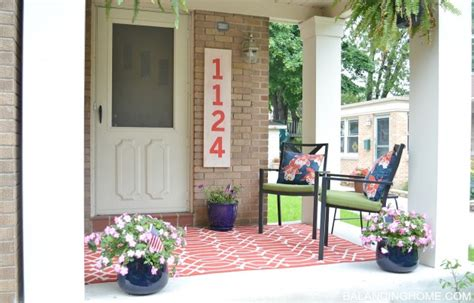 Porch Makeover porch makeover details balancing home with megan bray