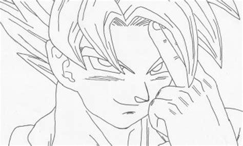 imagenes goku para imprimir imagen de goku para colorear dibujos de