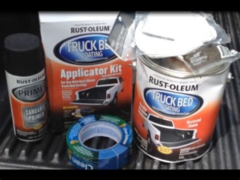 rustoleum bed liner review 2005 chevy colorado rust oleum roll on bed liner review