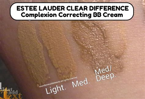 Estee Lauder Clear Difference Bb Harga estee lauder clear difference bb review swatches