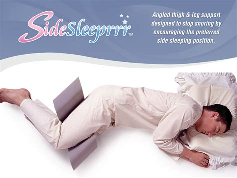 how do anti snore pillows work will an anti snoring pillow work if i sleep on my side