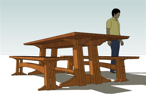 trestle bench plans trestle table bench plans woodideas