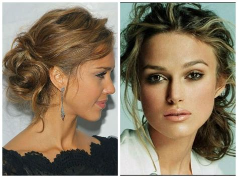 side buns for shoulder length fine hair 5 messy updo hairstyle idea s for medium length or long