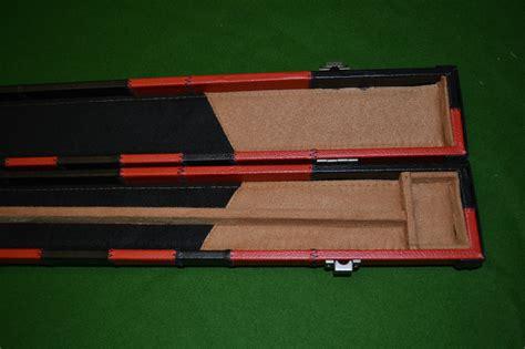 Snooker Cues Handmade - handmade 3 4 patchwork style snooker cue black