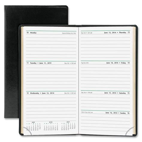 Caxon Easy Planner day timer slim weekly appointment planner ebay