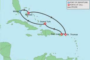 Caribbean Cruise Map by Alfa Img Showing Gt Caribbean Cruise Map