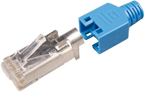 Connector Rj45 Cat 5e Original Usa hirose bl hirose rj45 connector cat 5e tm11 blue at