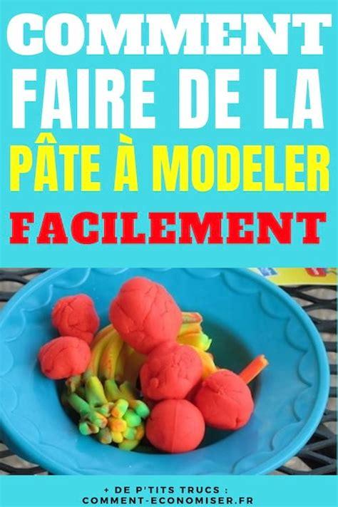 Comment Faire De La Pate A Modeler Maison