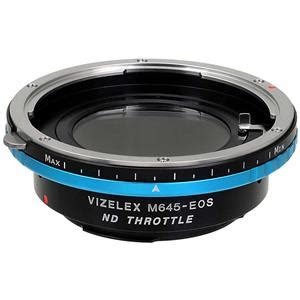 fotodiox vizelex nd mount adapter for mamiya 645 lens to