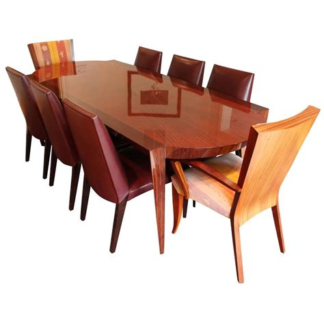 Dakota Dining Room Furniture Collection by Dakota Jackson Dining Table And Chair Set At 1stdibs