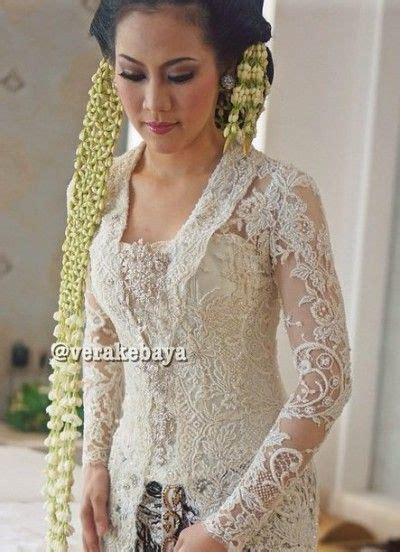Baju Nikah Vera Kebaya contoh desain kebaya pengantin warna putih karya rancangan desainer vera anggraini kebaya