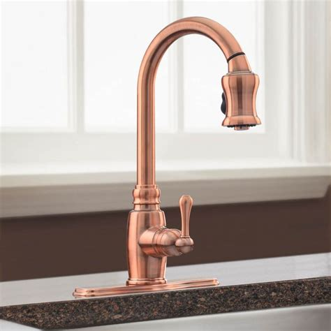 copper kitchen faucet best 25 copper kitchen faucets ideas on