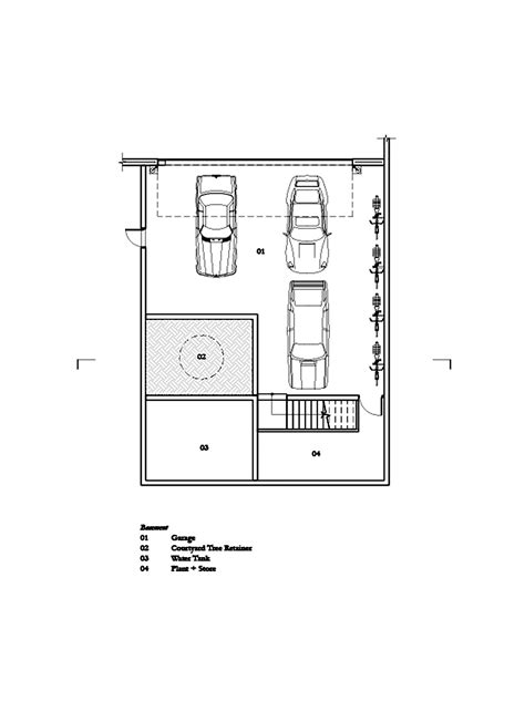 parts of a floor plan gallery of three parts house architects eat 94