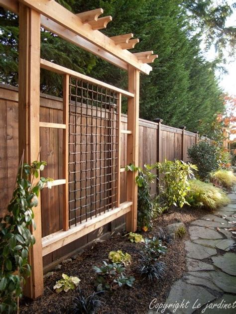 garden trellis plans inspire your garden with a trellis grape arbor arbors