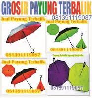 Payung Terbalik Jumbo jual payung souvenir payung promosi payung hadiah payung