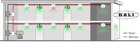 emergency exit lighting dual battery wiring diagram exit