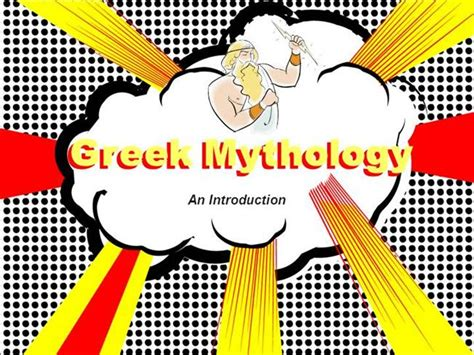 powerpoint templates greek mythology an introduction to greek mythology authorstream
