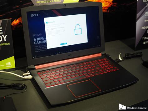 Laptop Acer Nitro 5 acer launched acer nitro 5 gaming laptop in india
