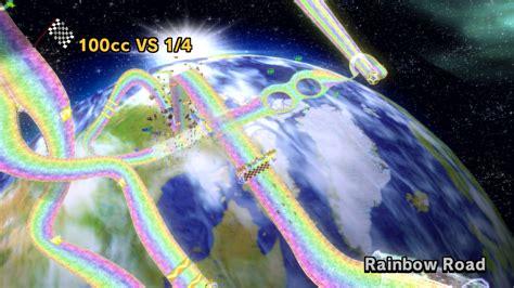 Rainbow Road mario kart 8 rainbow road space station page 3 pics