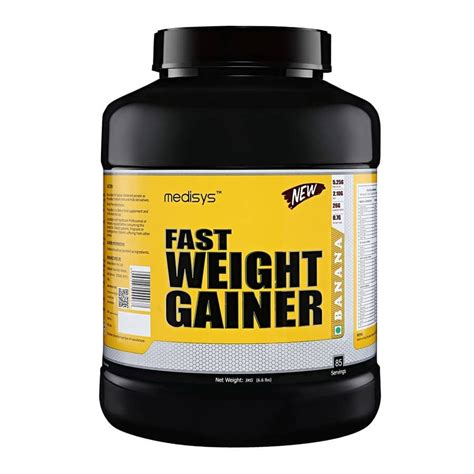 Weight Gainer Medisys Fast Weight Gainer Banana 3kg In India