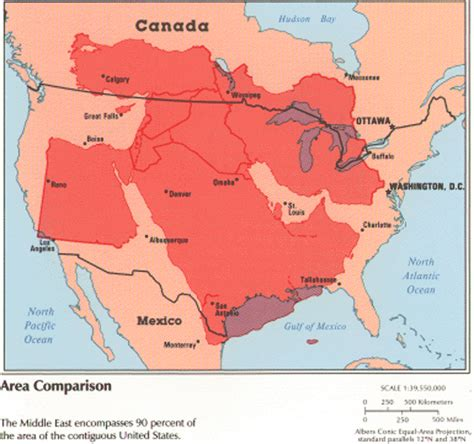 middle east map united states how big is the middle east cartographia