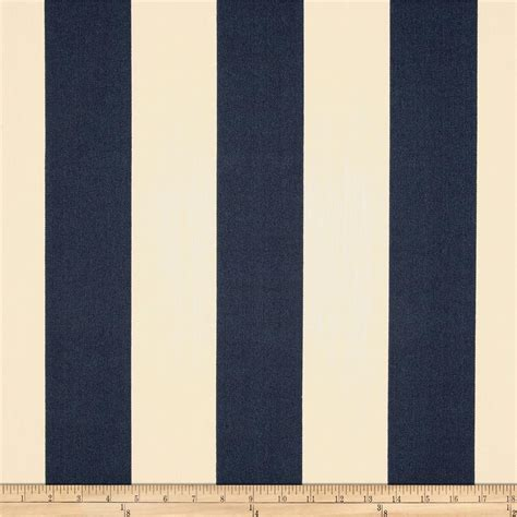 Vertical Stripe premier prints indoor outdoor vertical stripe blue discount designer fabric fabric