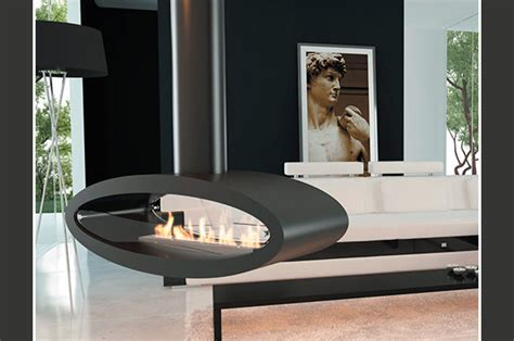 Ceiling Mounted Fireplace by Ceiling Mounted Ellipse Ethanol Fireplace By Decoflame