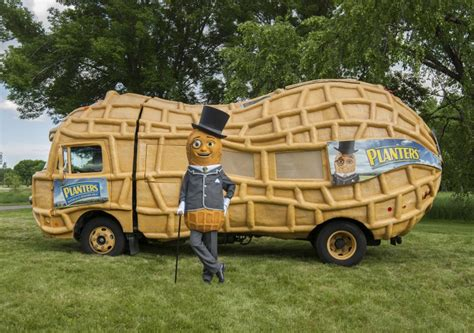 Planters Nutmobile by Time Has Finally Come For Suffolk S Peanut