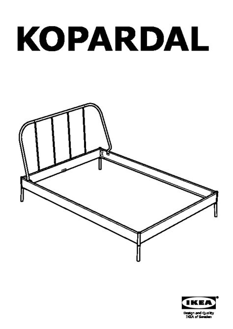 kopardal bed frame review kopardal bed frame gray l 246 nset ikea united states