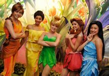'fairies week' to bring disney fairies together, including