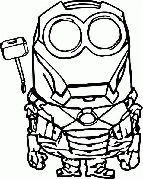 minion color pages minions coloring pages bob coloring home