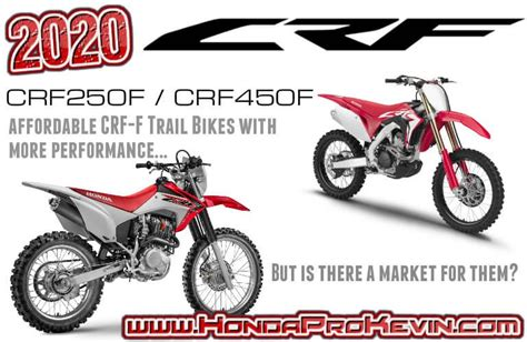 Honda Motorcycles 2020 by 2020 Honda Crf 250f 450f Dirt Bikes With Cheaper Price