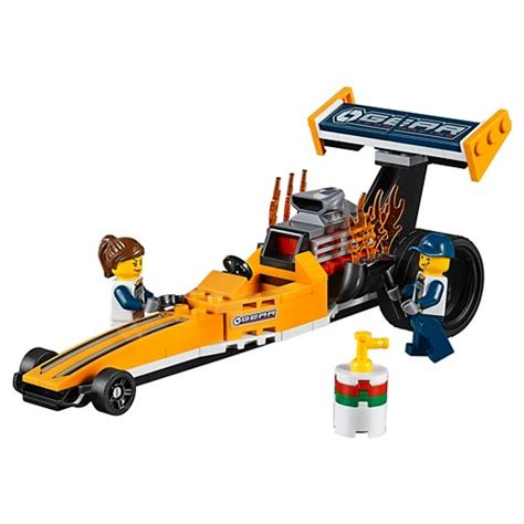 Produk Istimewa Lego City 60151 Dragster Transporter lego 174 city great vehicles dragster transporter 60151 target