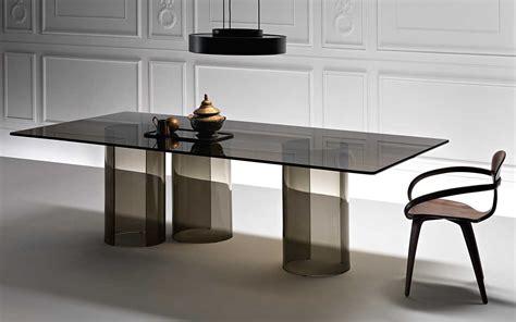 tavoli in cristallo fiam il tavolo in vetro luxor fiam italia