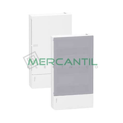 cuadros electricos schneider cuadro de superficie mini pragma 3 filas 36 modulos