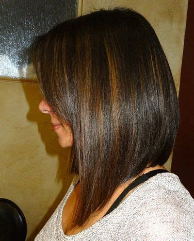 pic of back of aline ahaircuts 25 best ideas about long aline bob on pinterest long