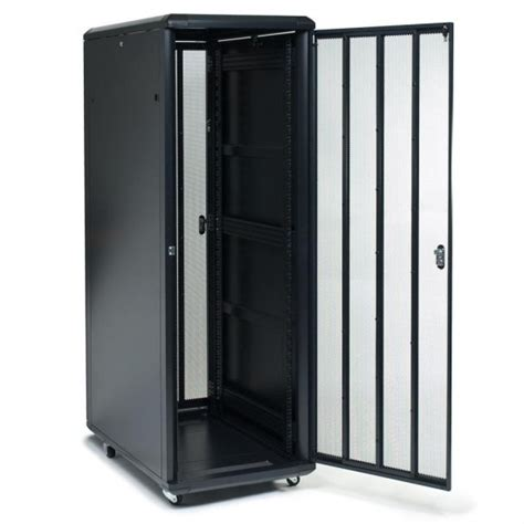 Enclosed Server Rack by A Comparison Of Open Rack Frames And Enclosed Cabinets