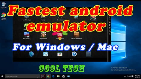 best android pc the best android emulator for pc new version 2017