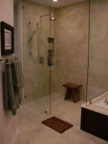 beautiful no threshold shower for the home